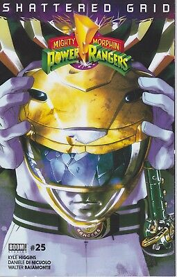 YELLOW RANGER Mighty Morphin Power Rangers MMPR 25 Shattered Grid Variant BOOM