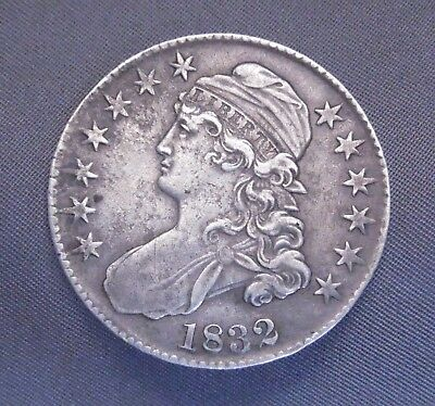 1832 - P Capped Bust Silver Half Dollar | US Coin | High Quality