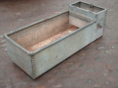 Vintage Rustic Riveted  Trough / Garden Planter