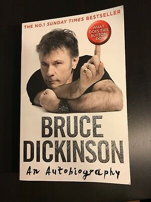 Bruce Dickinson - What does this button do - Autobiografie (Iron Maiden)