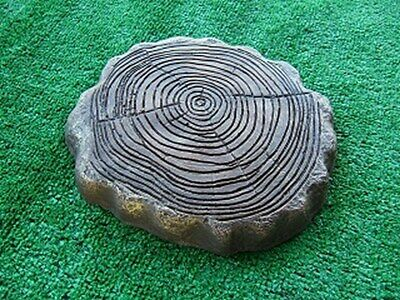 Log Stepping Stone Mould Mold Garden Paver Concrete Moulds Landscaping Patio NEW