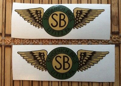 Sensenich Sb Brothers Original Wood Propeller Aircraft Decal Set Of 2.