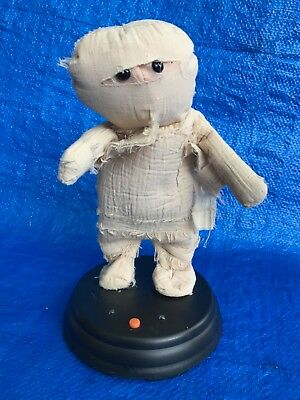 "Gemmy 12"" Mummy Animated Dancing Motion w/Lights Sings THRILLER Song Halloween"