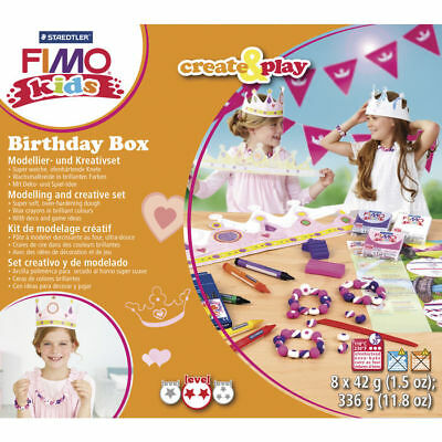 ( 28,56€ / 100 G) New Fimo Kids Create & Play: Princess, 8 x 42 G
