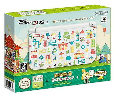 Nintendo 3DS LL Animal Crossing Happy Home Designer Pack New From Japan F/S