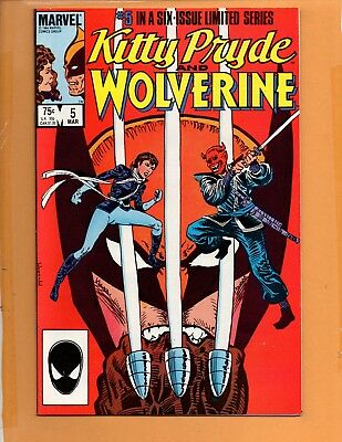 Kitty Pryde and Wolverine #5 High Grade NM to NM+