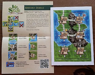 Isle of Skye Adjacency Scrolls Promo Expansion - Brand New Unused Mint