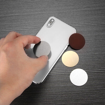 Round Metal Plate Adhesive Sticker Replace For Magnetic Car Mount Phone Holder