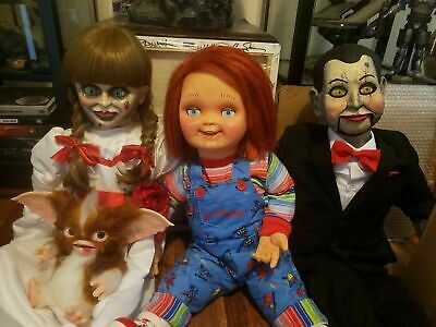 Good Guy Doll Child's Play Talking Chucky Life Size 30 Inch Tall w/ Many Extras