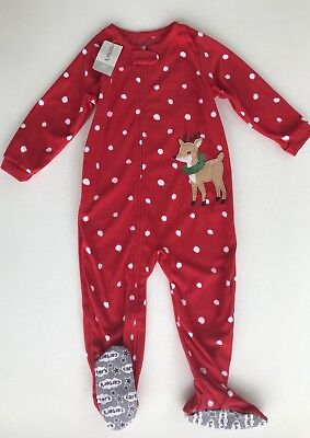 50ef044e2 NEW CARTERS TODDLER Girls One Or 2-pc. Fleece Pajama Sleeper ...