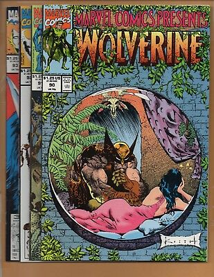 Marvel Comics Presents #90 91 92 & 93 Wolverine Cable NM