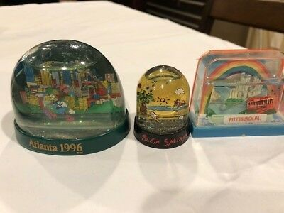 Snow Globe lot of 10