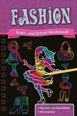 Kratzbuch. Fashion