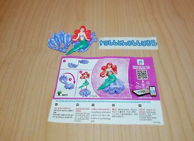 Se573 Ariel + Bpz Kinder Joy India 2017/2018 Disney Princess