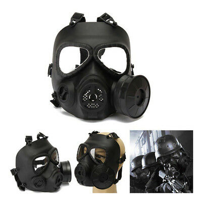Gas Mask Single Filter Fan CS Edition Perspiration Dust Face Guard Breathable