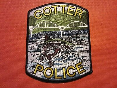 Collectible Arkansas Police Patch,Cotter New