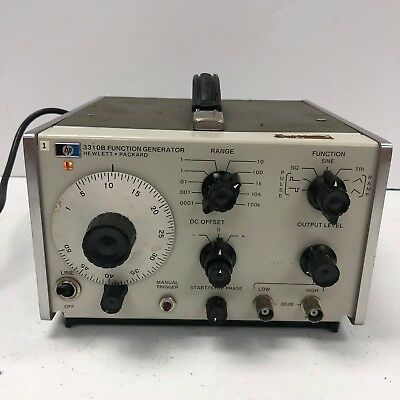 Hp Agilent 3310B Function Generator 0.0005Hz to 5Mhz TESTED WORKING