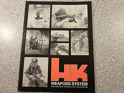 Heckler & Koch HK Weapons Systems 1992 Catalog / Brochure