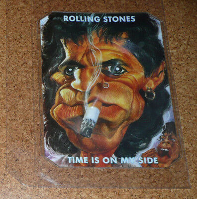 THE ROLLING STONES KEITH RICHARDS Time Is On My Side * Shape Picture Vinyl no LP