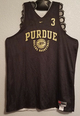 huge discount f6fb3 009a9 NCAA - PLAYER Issued Purdue Boilermakers Basketball Reversible Jersey -  Mens 3Xl