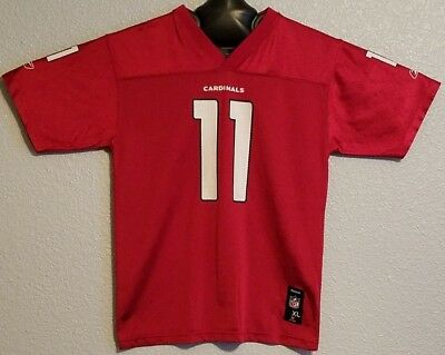 056a4cc43 Nfl - Vtg Reebok Arizona Cardinals Jersey Larry Fitzgerald - Youth Boys Xl