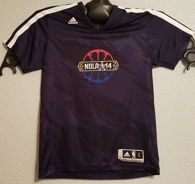 NBA - ADIDAS NOLA WARM-UP SHIRT ALL STAR GAME 2014 NEW ORLEANS PELICANS - bda4142c2221e