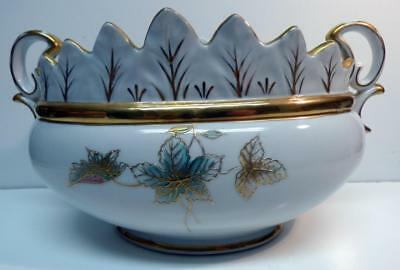 Antique G-1218 Very Beautiful Unique&very Rare Serving Or Vegetable Bowl Sz-11""