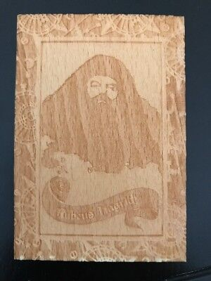 Harry Potter Half Blood Prince HBP Artbox Wood Box Topper RUBEUS HAGRID BT3 CARD