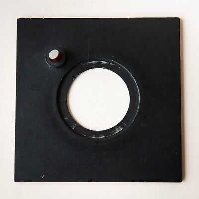 Beseler 4X4 Lensboard with Pilot Light 39mm Opening for 23 & 45 Series Enlargers