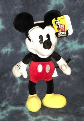 Mickey Mouse True Original - Plush Mickey Mouse Figure 90 YEARS OF MAGIC! NEW