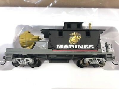 USMC Express collection searchlight Spot Light Train w/ coa Hawthorne village