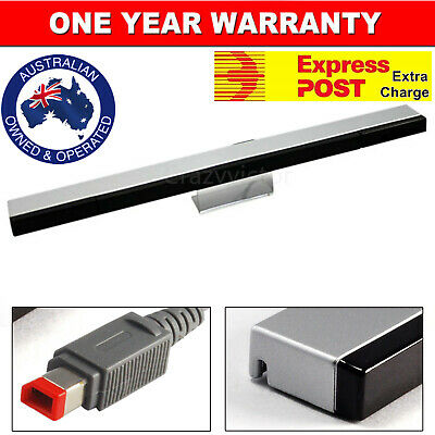 New Wired Infrared Motion Sensor Bar with Stand for Nintendo Wii Wii U Console