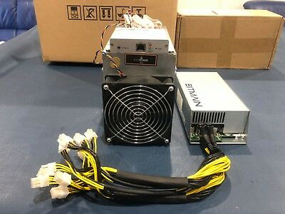 Bitmain Antminer D3 Dash 19.3GHs Crypto Currency ASIC Miner + 1600W APW3++