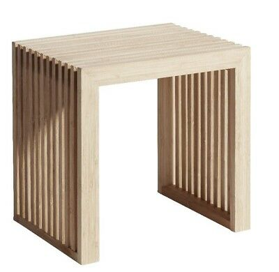 cinas dk maxi hocker, sitz, bank, tisch, rib stool, design  by cinas A/S bambus