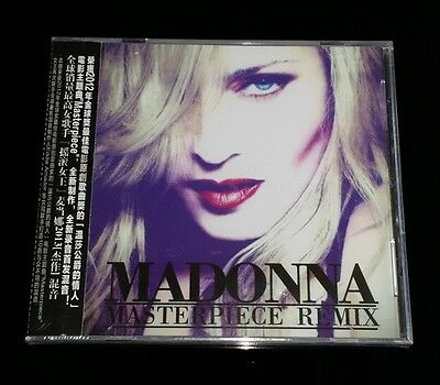 "MADONNA ""Masterpiece"" CD 8-Trk EP & Remix China NEW"