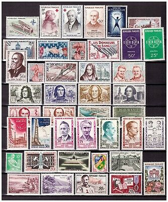s24604) FRANCE 1959 MNH** Nuovi** Complete year set Y&T 1189/1229