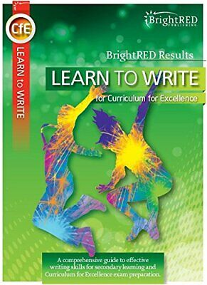 Learn to Write (Bright Red Results) by Dr. Christopher Nicol Book The Cheap Fast