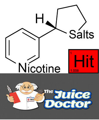 Nic Salts  72mg/ml in PG, VG or 50/50 Salt Nicotine 10ml, 30ml,60ml, 90ml, 120ml