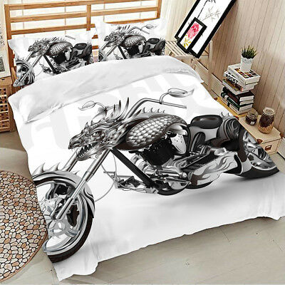 3D Duvet Cover Bedding Set With Pillow Cases Single Double King Size Quilt Cover