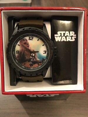 Star Wars Chewbacca Lucasfilms Accutime SWM1110 Watch