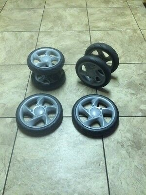 SET of FOUR WHEELS from Fisher Price Active Gear Stroller
