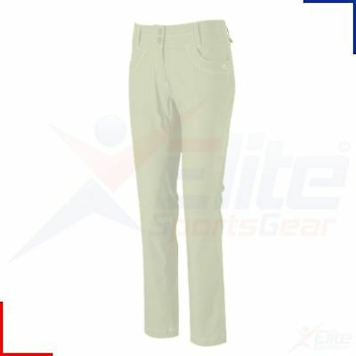 Craghoppers Ladies Nosilife Insect Repel Amrite Walking Trousers UK 14 - Almond