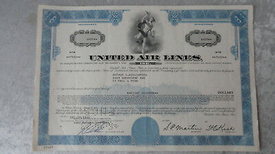 United Air Lines-5% Subordinated Debenture-1966