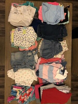 54 Piece Lot!! Girl Clothing Size 4/5 Shirts Dresses Skirts Pants Shorts