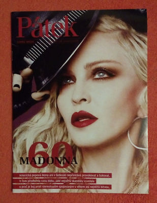 """""""Patek-Madonna 60"""" NEW Czech A4 Magazine w/EXCLUSIVE PROMO COVER & 6 pgs Article"""