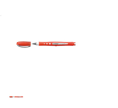 Penna roller STABILO worker + colorful rosso 2019/40