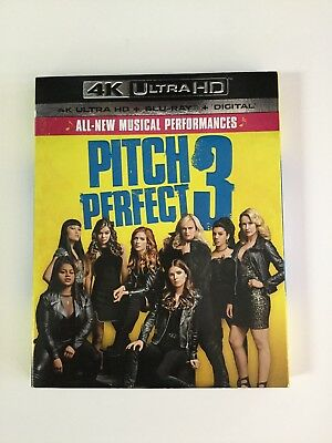 Pitch Perfect 3 4K Ultra HD and Blu-ray, w/Slip Cover, NO DIGITAL!!