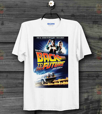 Back to The Future Poster Cool Vintage Unisex T Shirt B170