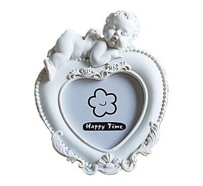 Cute Classic Photo Frame For Babies Nursery Room Angel Design Picture Holder New