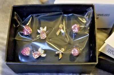Pink Hope - Stud Earrings Pack - contributes to cancer research